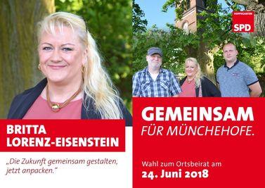 Ortsbeiratswahl Münchehofe 24. Juni 2018